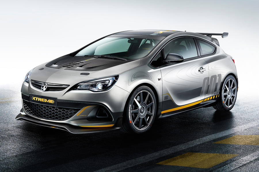 Vauxhall Astra VXR Extreme to enter production following Geneva debut