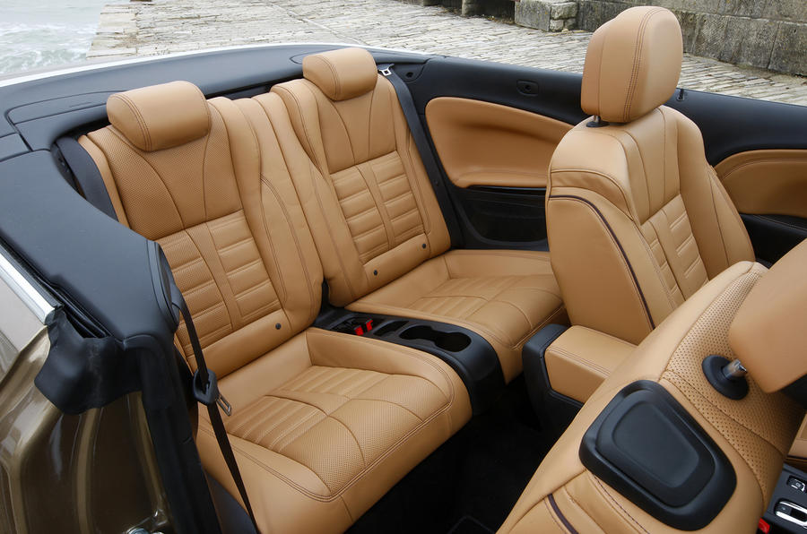 Vauxhall Cascada rear seats