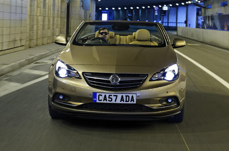 Vauxhall Cascada front end