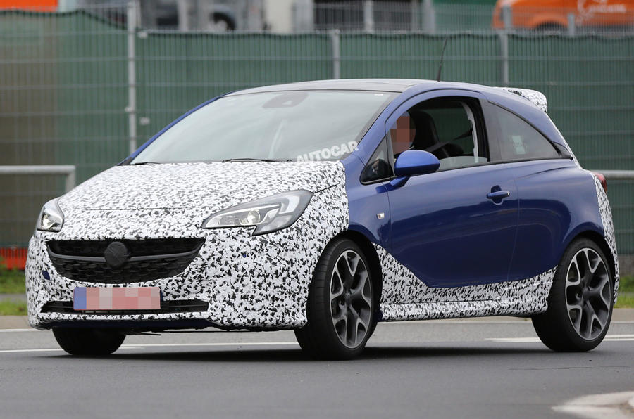 Vauxhall developing new Corsa VXR for 2015 launch