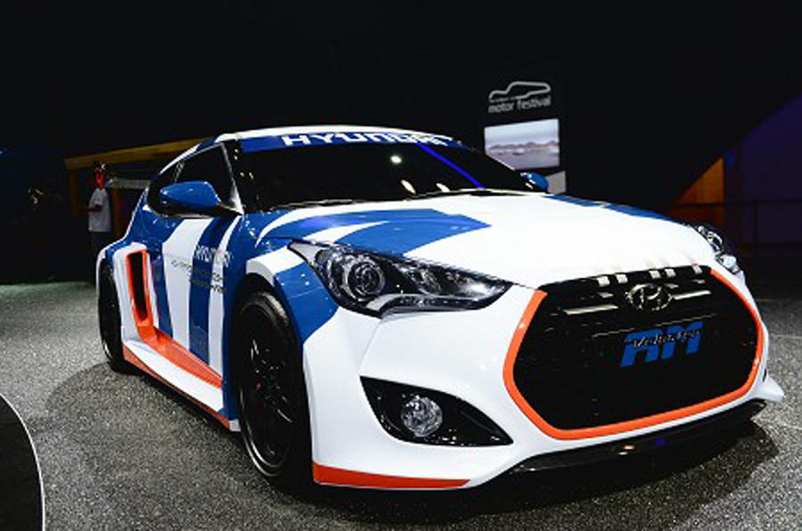 Hyundai unveils wild mid-engined Veloster
