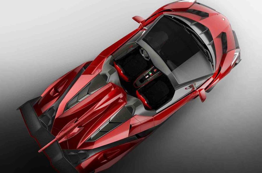 Lamborghini to build nine Veneno Roadsters
