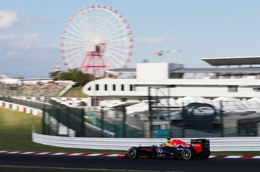 Sebastian Vettel closes on F1 title with win in Japan