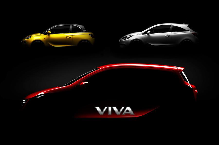 Viva name returns for new Vauxhall city car