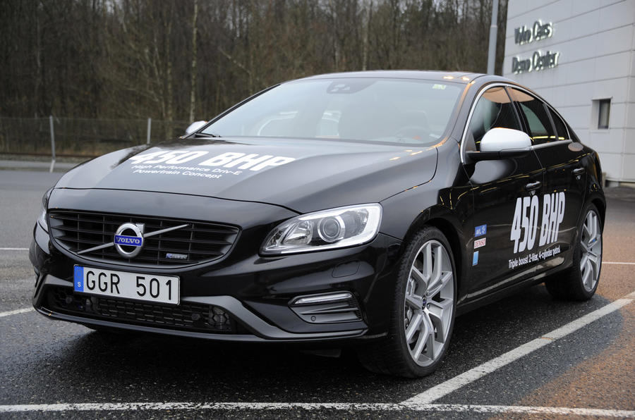 Volvo targets Mercedes, Audi and VW with 444bhp four-cylinder engine