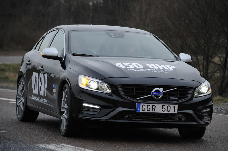 Radical new 444bhp Volvo S60 Drive-E concept driven