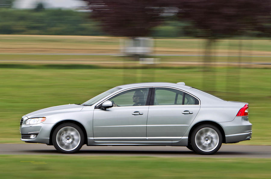 Volvo S80 D5 SE Lux side profile