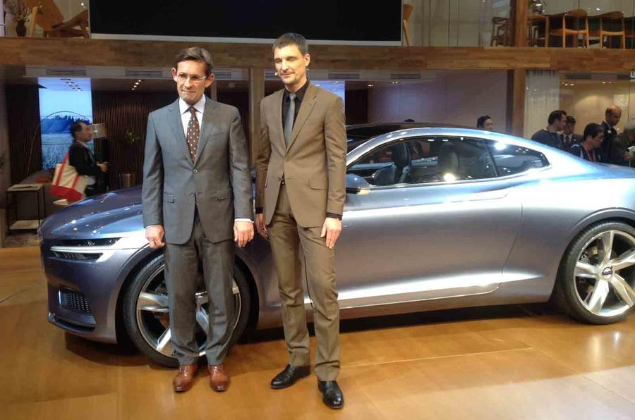 Volvo Concept Coupe shown in Tokyo