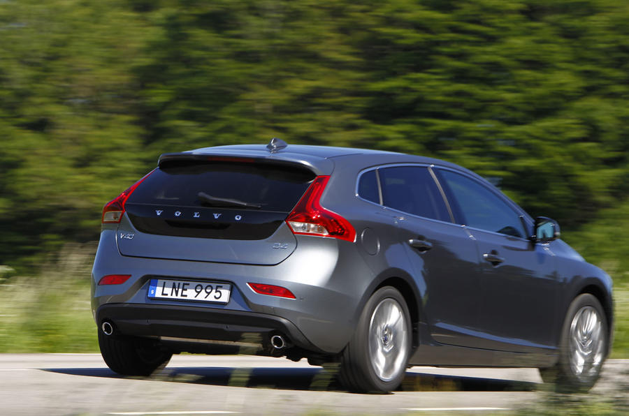 Volvo V40 Drive-E D4 first drive review