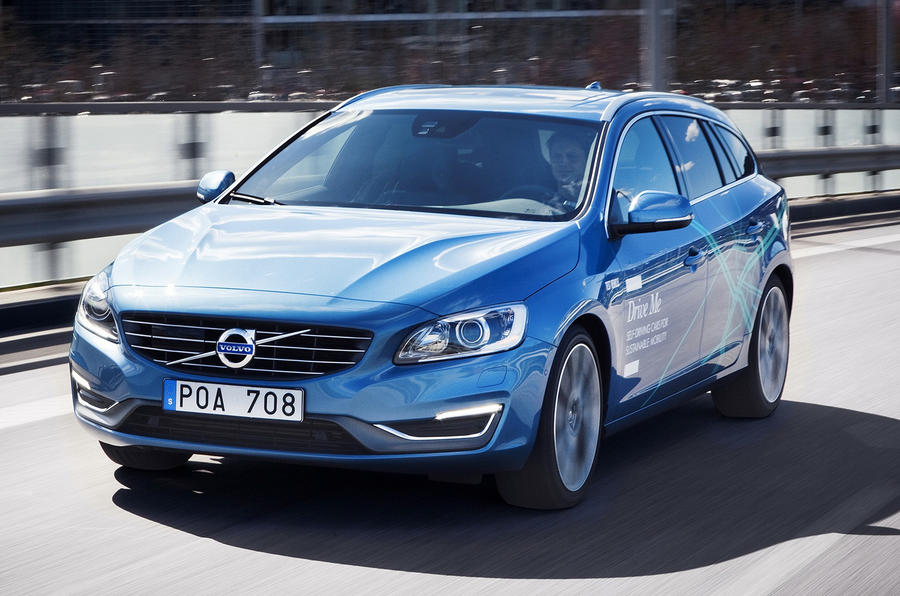 Volvo to start self-driving car test in Sweden