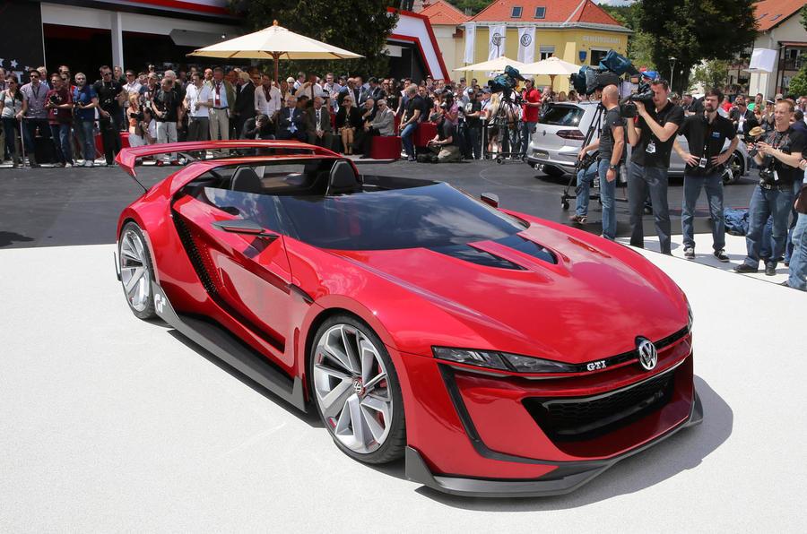 Volkswagen Reveals New 496bhp Gti Roadster Concept Autocar