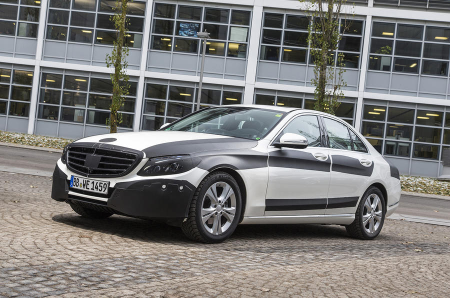 New Mercedes C-class - first ride