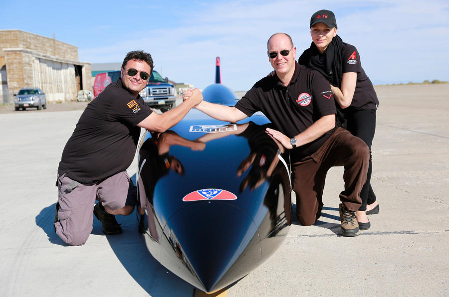 Venturi plans 372mph electric land speed record run