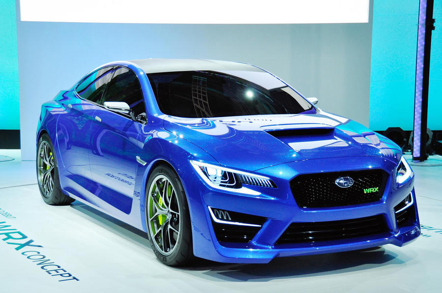 Subaru WRX to get European debut at Frankfurt