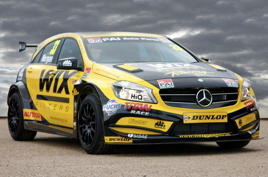 Mercedes-Benz returns to BTCC racing with new car