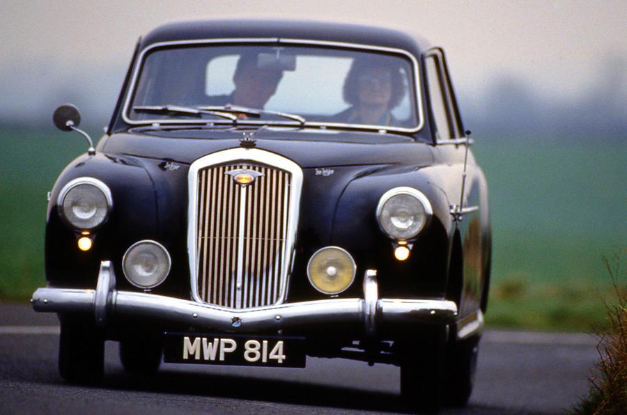 The failed car companies of Britain