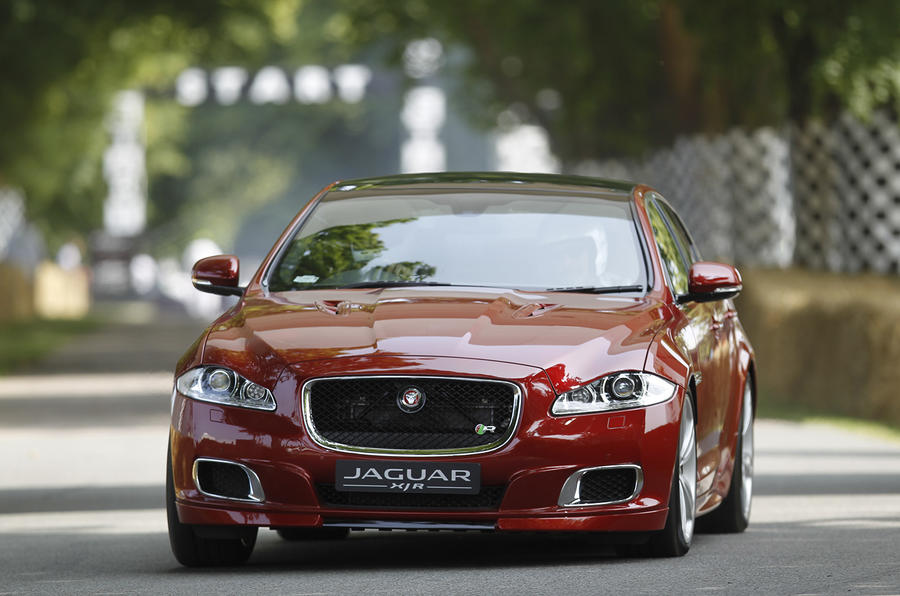 Jaguar XJR shaping up nicely