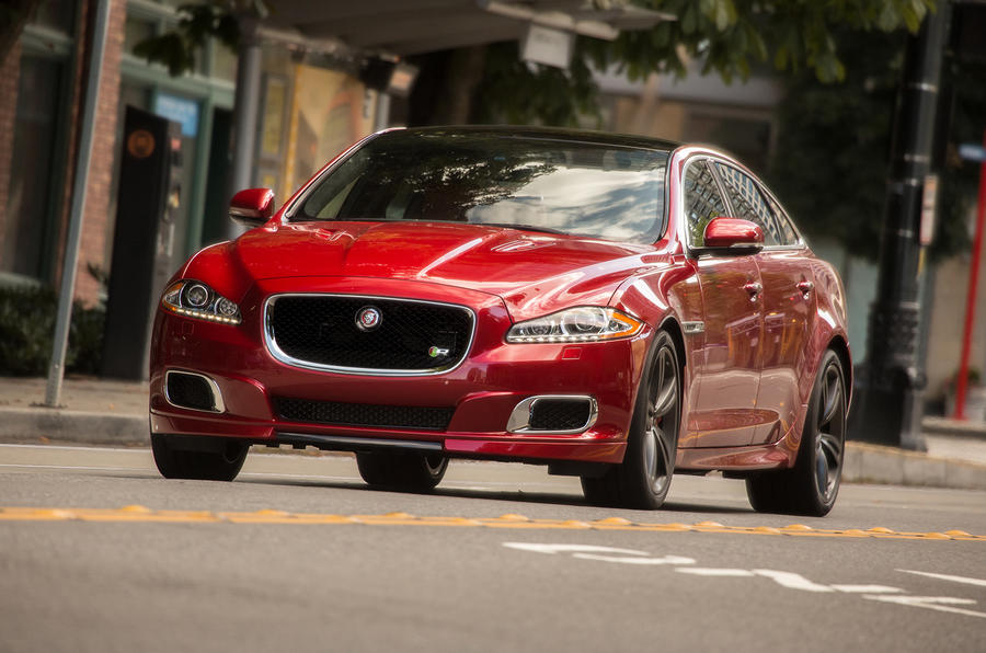 Jaguar XJR front quarter
