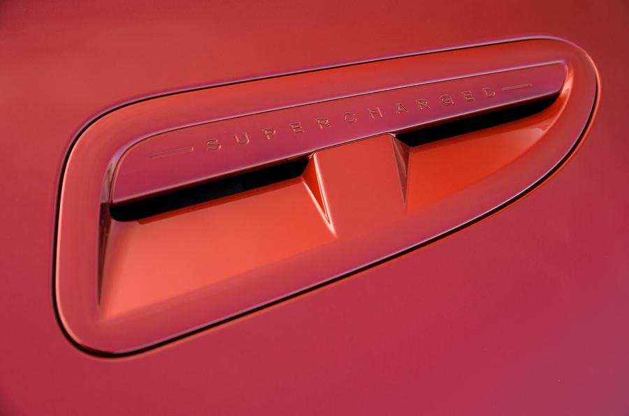 Jaguar XJR air scoops