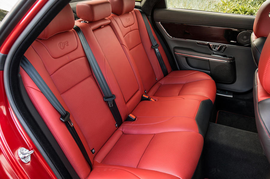 Jaguar XJR rear seats