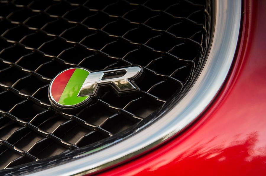 Jaguar XJR badging
