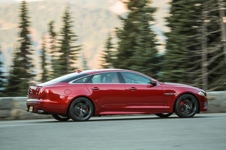 ... Jaguar XJR Side Profile ...