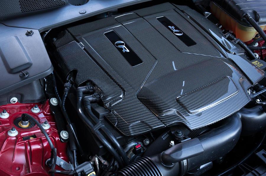 5.0-litre V8 Jaguar XJR engine
