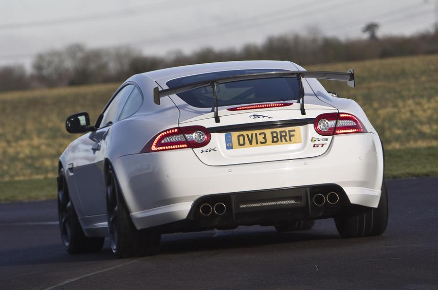 Jaguar XKR S GT Rear Cornering
