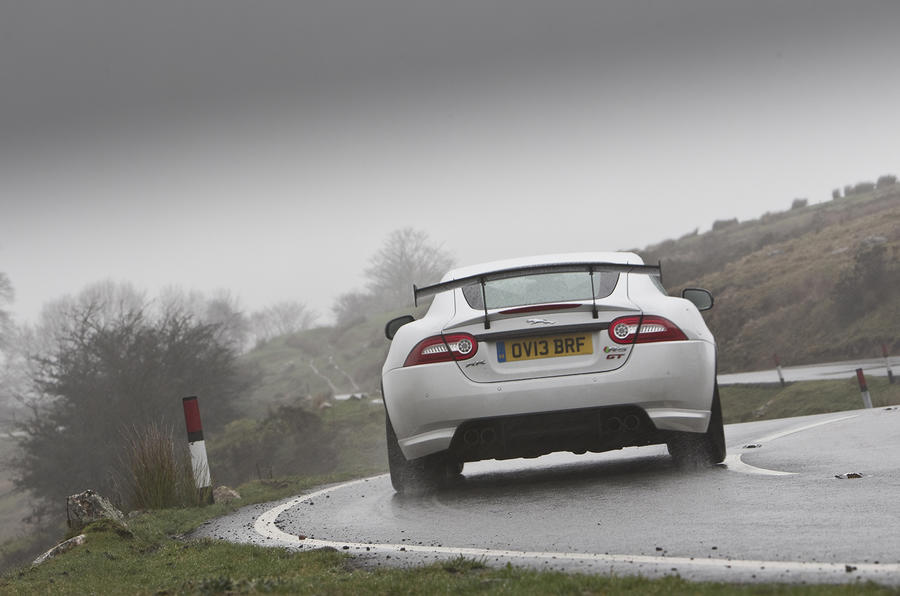 Jaguar XKR-S GT rear cornering