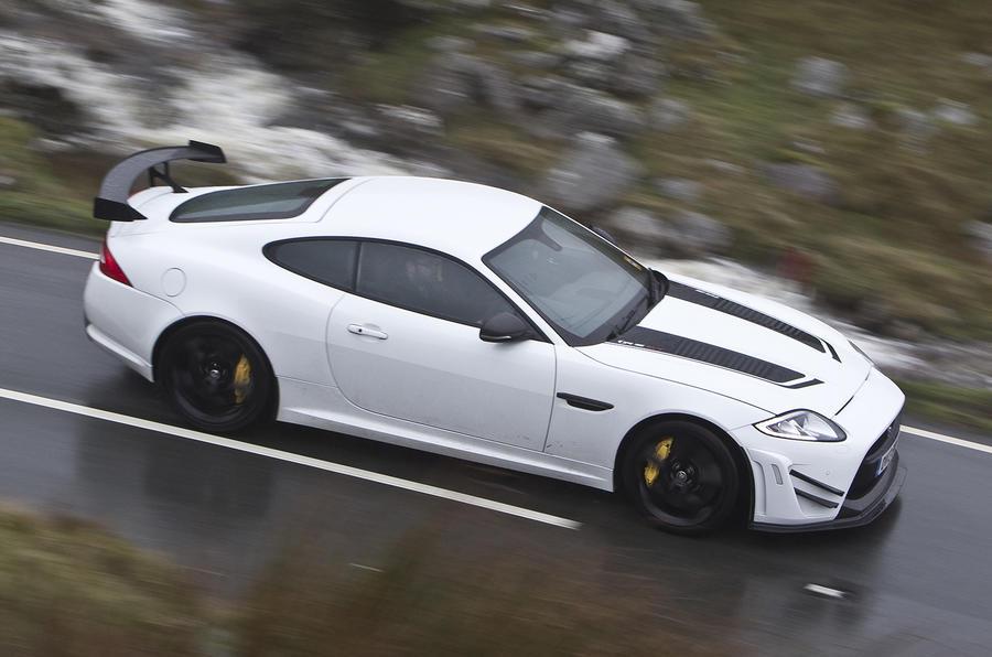 Jaguar XKR-S GT side profile