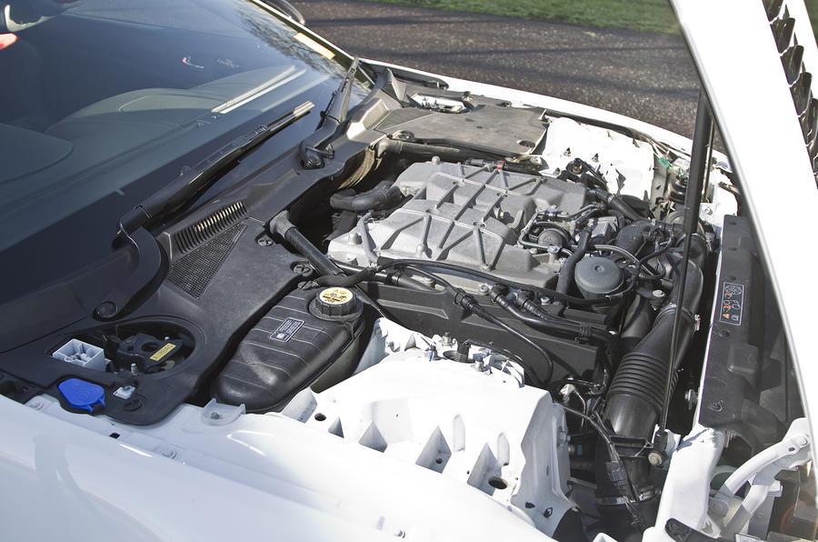 Jaguar XKR-S GT 5.0-litre V8 engine