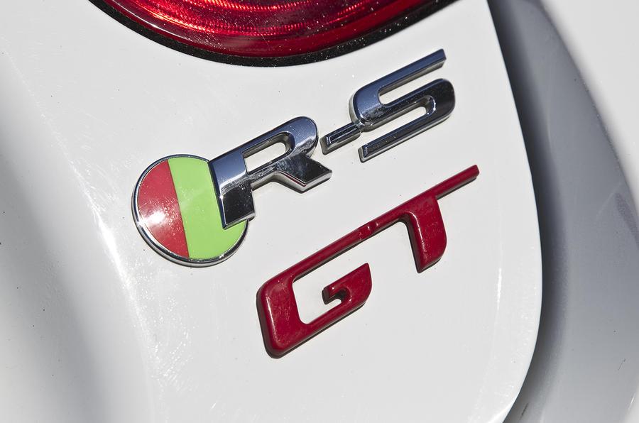 Jaguar XKR-S GT badging