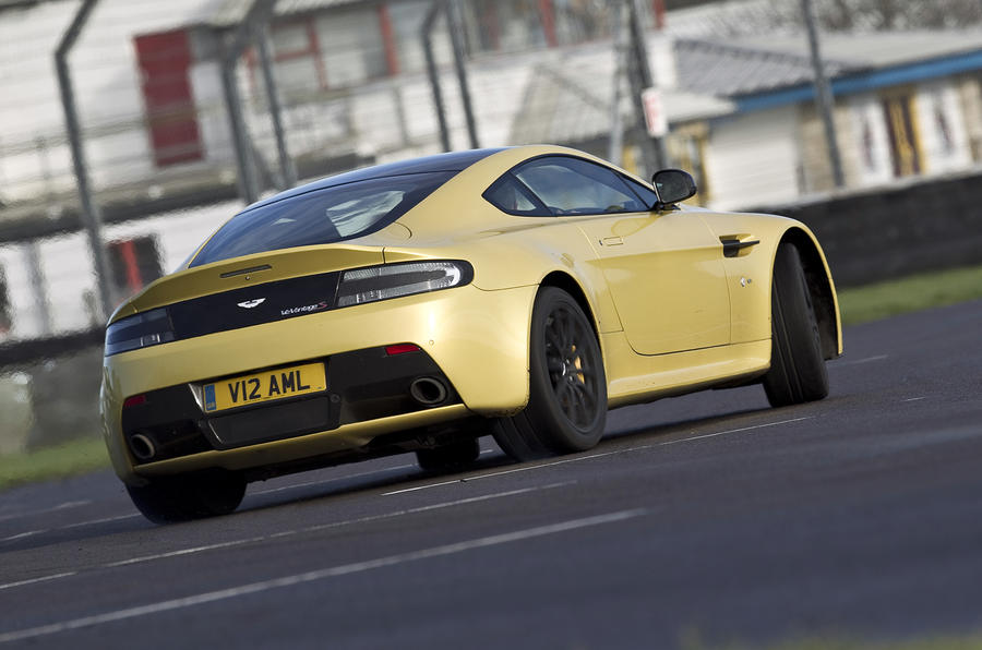 V12 Vantage S will oversteer on demand
