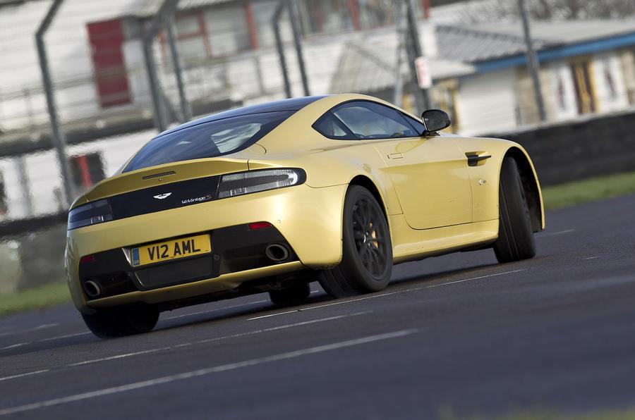 V12 Vantage S will oversteer on demand