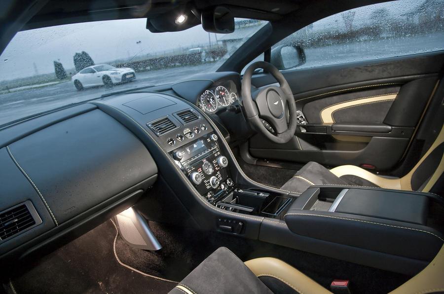 V12 Vantage S interior
