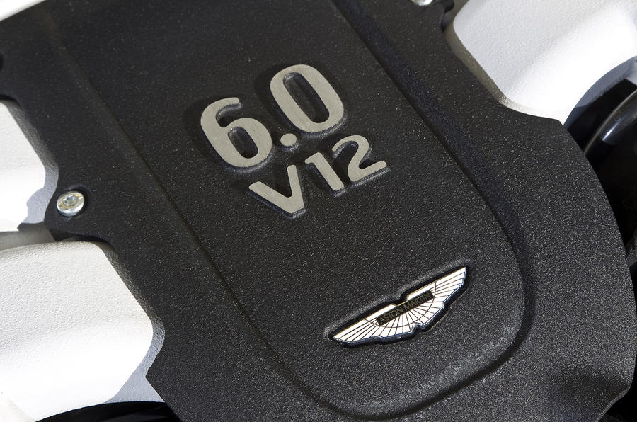 V12 Vantage S engine