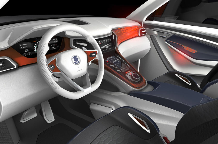 9 Seater Suv >> 2016 SsangYong Tivoli seven-seater concept for Frankfurt ...