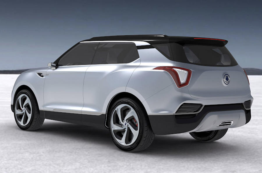 SsangYong XLV concept previews new compact SUV