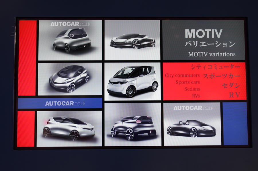 Yamaha Motiv to lead new small car family