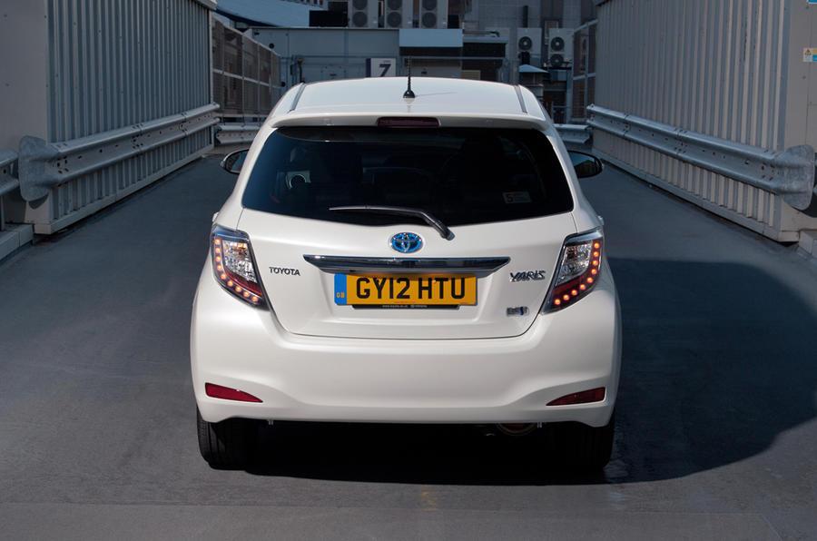 Toyota Yaris Hybrid rear
