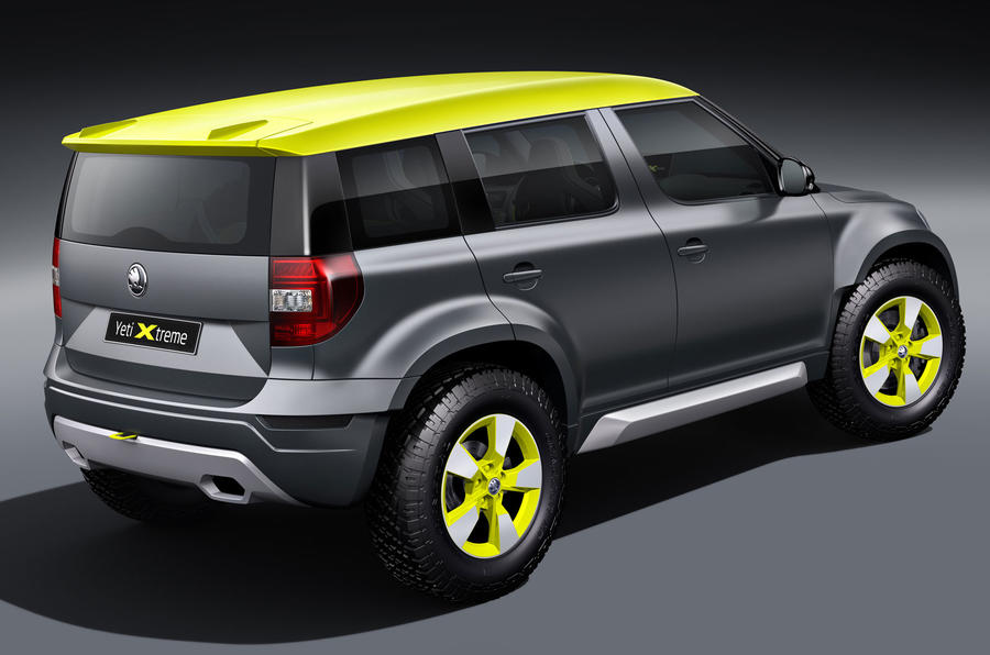New Skoda Yeti Xtreme to make public debut at Worthersee show