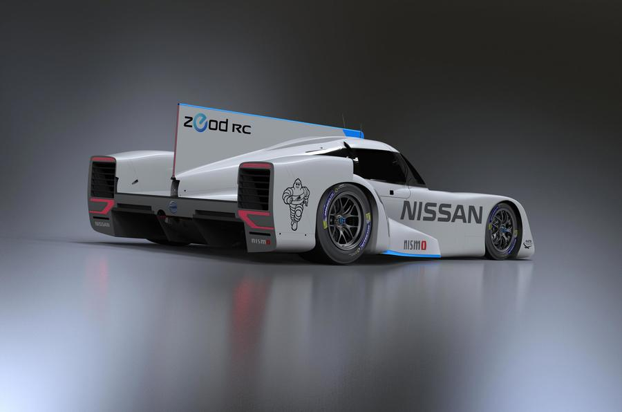 Nissan ZEOD RC gets 395bhp for Le Mans