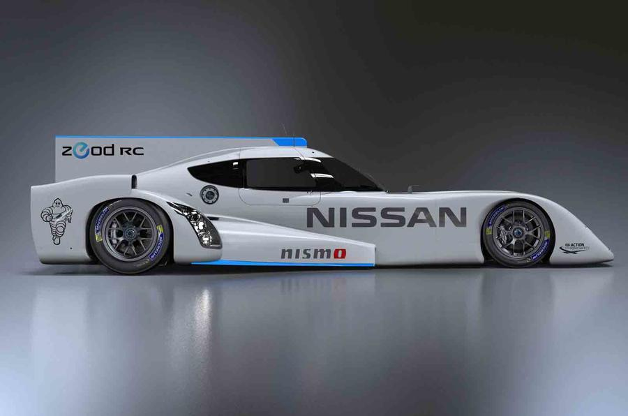 The Nissan ZEOD RC is an electric marvel
