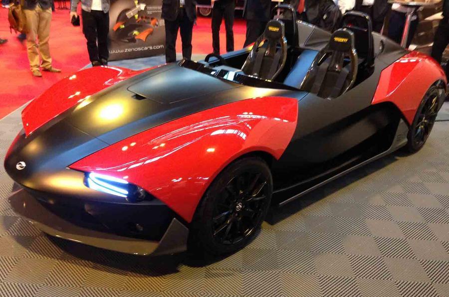 Zenos E10 revealed at Autosport International