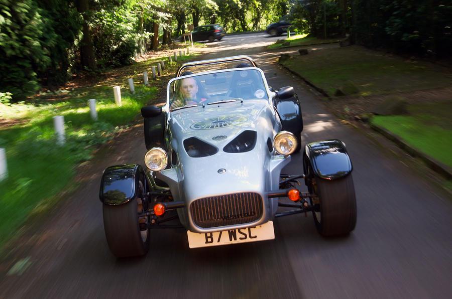 Westfield Sport Turbo 3 front end