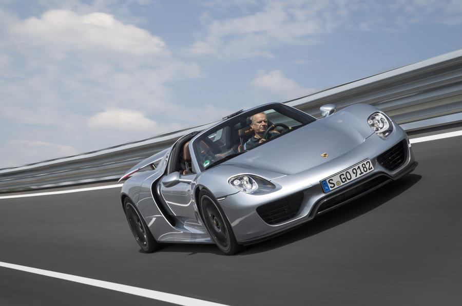 A ride in Porsche's 918 Spyder evokes memories of the 959