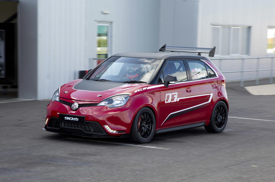 MG3 hot hatch racing concept unveiled