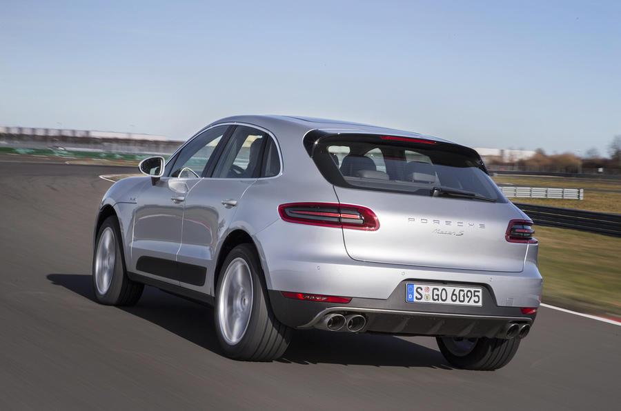 Porsche Macan S Diesel rear