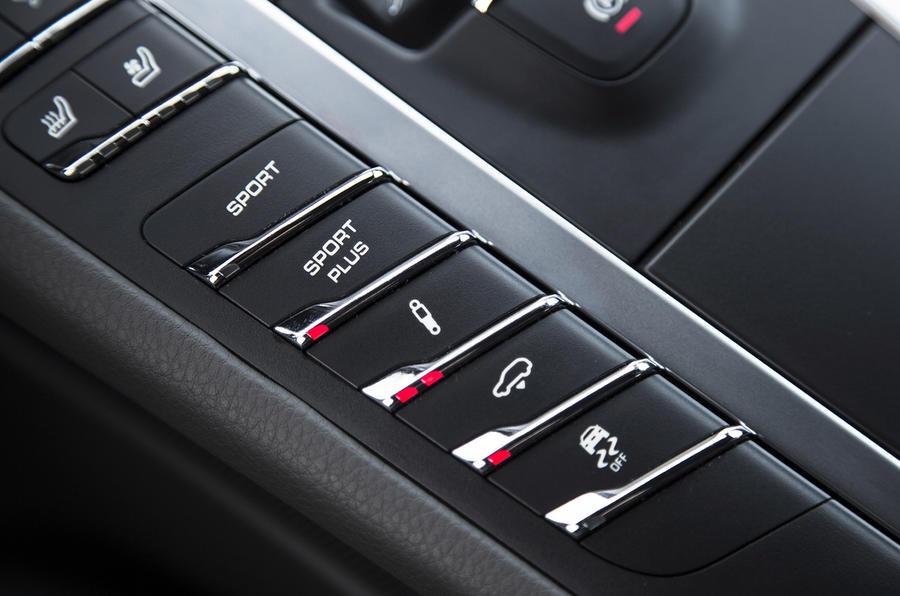 Porsche Macan S Diesel dynamic control