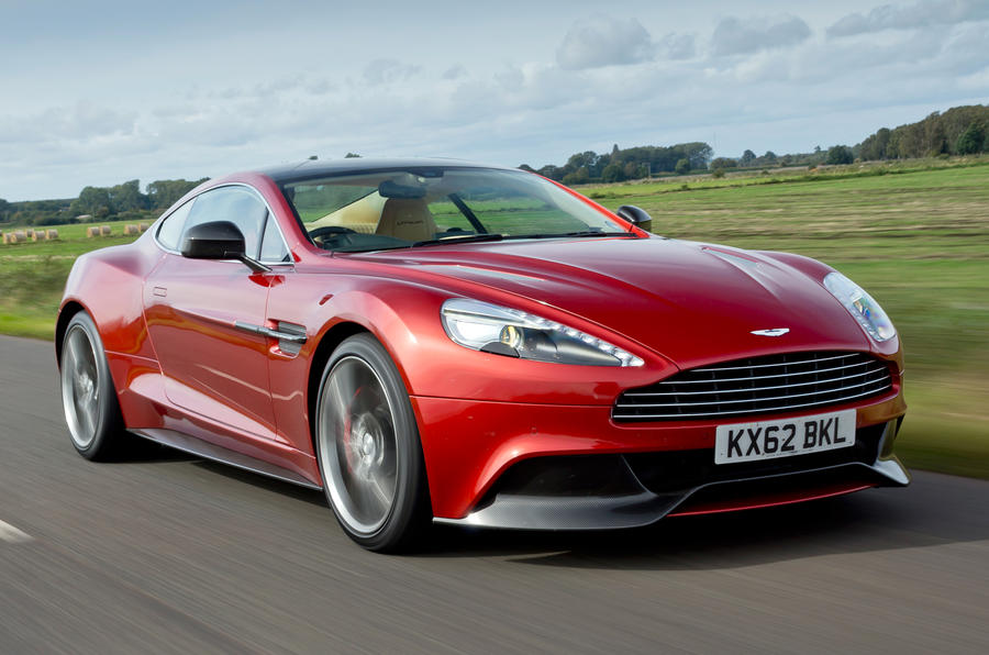 The dramatic Aston Martin Vanquish